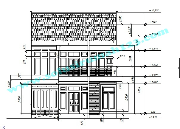Desain Gambar Kerja Rumah Di Surakarta