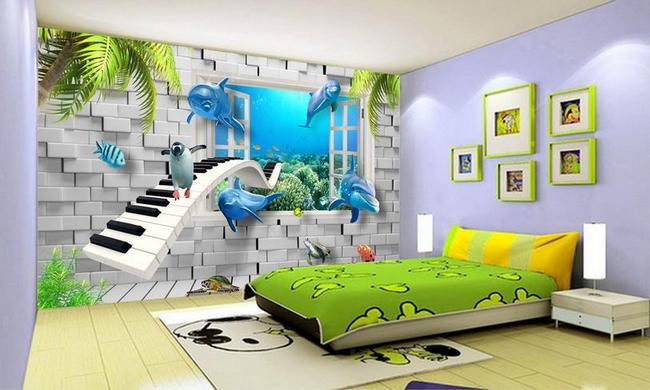 5 warna cat yang disarankan untuk kamar anak