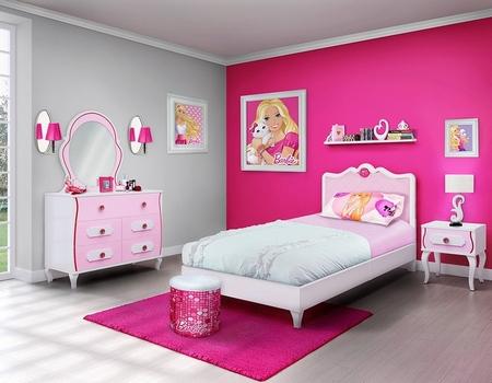 desain warna putih untuk kamar anak-anak