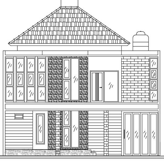 Gambar Kerja Renovasi Rumah Sleman 4